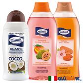 【義大利MILMIL】修護滋養洗護髮專用超值3入組