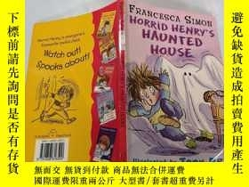 二手書博民逛書店horrid罕見henry s haunted house: 可怕的亨利鬼屋.Y212829