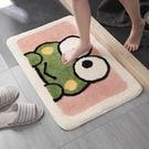 防滑墊 卡通地墊衛生間浴室吸水家用廁所門口洗手間防滑進門腳墊臥室地毯
