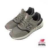 New Balance 997S 灰色 網布 拼接 休閒運動鞋 男款NO.B0973【新竹皇家 MS997MA】