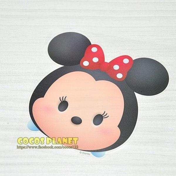 正版迪士尼疊疊樂防水貼紙 TSUM TSUM 米老鼠 米妮 壁貼 防水貼紙 行李箱貼紙 COCOS FT034