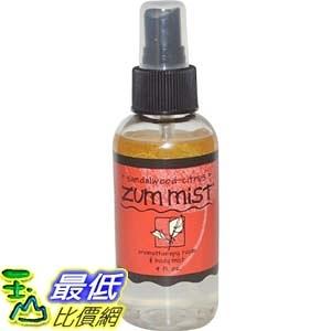 [104美國直購] Indigo Wild Zum Mist Sandalwood-Citrus 4 Fluid Ounces 精油