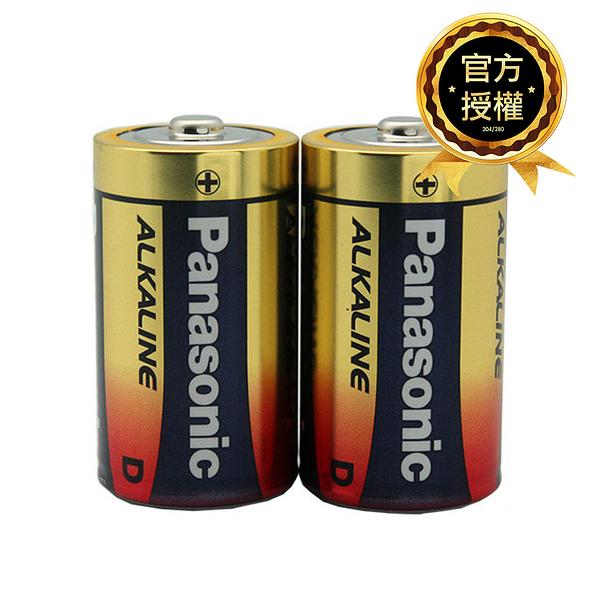 Panasonic國際牌 1號 ALKALINE鹼性電池 2入