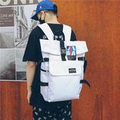 雙肩包老男孩明星同款雙肩包女新款15.6寸電腦背包男潮牌裝衣服書包 摩可美家