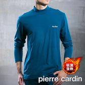 【PierreCardin皮爾卡登】日本Sunburner智慧型控溫半高領發熱衣(土耳其藍)PD890-0668