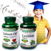 [思路清晰B組]自然之寶鮭魚油+卵磷脂