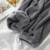暖暖褲 仙女暖暖褲女珊瑚絨寬鬆束腳鬆緊腰直筒休閒長褲大碼刺繡睡褲 6色均碼