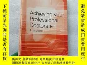 二手書博民逛書店Achieving罕見your Professional Doc