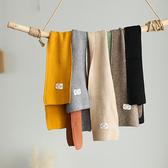 包芯紗圍巾 純色短圍巾 復古衛衣披肩/7色-夢想家-1024