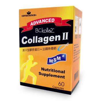 Convince 康心 二型膠原蛋白膠囊 60顆 美十樂藥妝保健