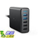 [106美國直購] Anker AK-A2054111 Quick Charge 3.0 63W 5-Port USB Wall Charger, PowerPort Speed 5 充電器