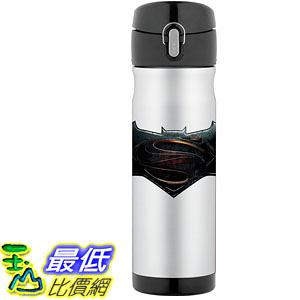[106美國直購] Thermos Batman V Superman 蝙蝠俠對超人 16 Ounce 不鏽鋼保溫運動水壺
