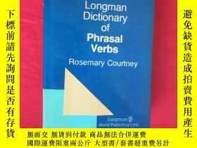 二手書博民逛書店Longman罕見Dictionary of Phrasal Verbs (16開,精裝 ) 【詳見圖】Y54