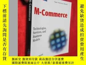 二手書博民逛書店M-Commerce:罕見Technologies, Servi