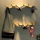北欧门口钥匙挂钩壁挂创意玄关挂衣钩墙壁上鹿角装饰置物架衣帽架 依凡卡