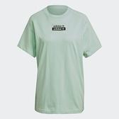 【陸壹捌折後$1580】Adidas R.Y.V. 女裝 短袖 T恤 純棉 寬鬆 綠 GT5996