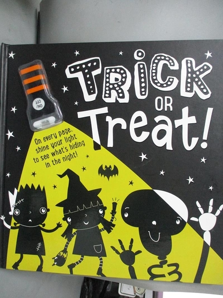【書寶二手書T8/少年童書_ZJK】TRICK OR TREAT!