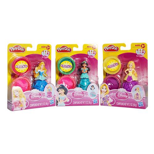 Play-Doh 培樂多 迪士尼公主遊戲組(茱莉公主/睡美人/長髮公主樂佩)[衛立兒生活館]