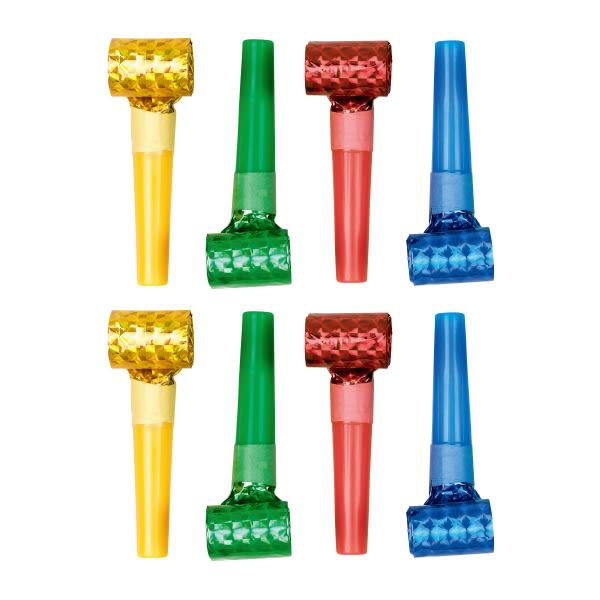派對吹笛8入-彩虹