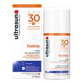 ultrasun 優佳 倍護水感防曬乳SPF30 PA+++ (100ml/單罐)【杏一】
