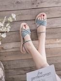 平底涼鞋女仙女風時尚百搭