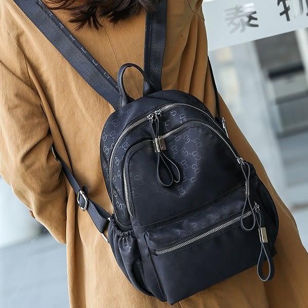 Catsbag-GD印花料經典設計防潑水子母後背包-A10440123