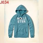 HCO Hollister Co. 男 當季最新現貨 帽T外套 Hco. J634