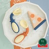 嬰兒輔食彎頭叉勺寶寶訓練勺子可彎曲兒童餐具套裝【福喜行】