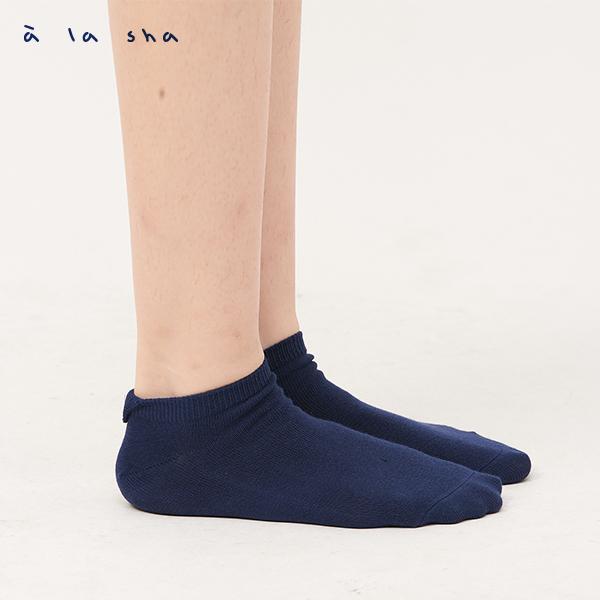 a la sha  阿財半圓造型短襪