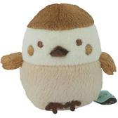 San-X 角落生物 迷你沙包玩偶 絨毛玩偶 掌上型玩偶 角落小夥伴 麻雀 褐_XS63852