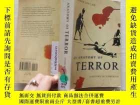 二手書博民逛書店AN罕見ANATOMY OF TERROR【397】Y10970