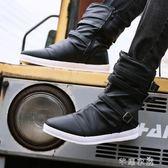 高筒馬丁靴子高筒男靴時尚韓版棉靴男士牛仔靴個性長筒靴 芊惠衣屋