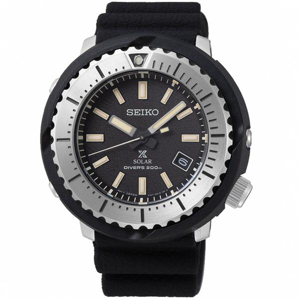 SEIKO精工PROSPEX STREET小鮪魚太陽能潛水錶 V157-0DD0D SNE541P1