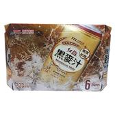 台灣菸酒紅麴黑麥汁330ml*6入/組【愛買】