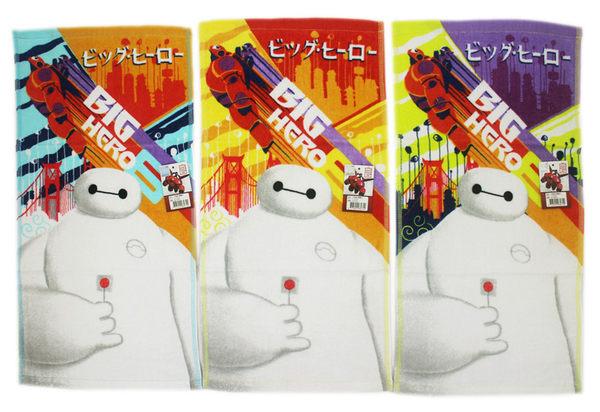 【卡漫城】 大英雄天團 童巾 3條一組 ㊣版 Big Hero 6 小毛巾 杯麵 療癒系 大白 100% 純棉 毛巾