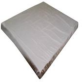 素色薄床墊套米 雙人