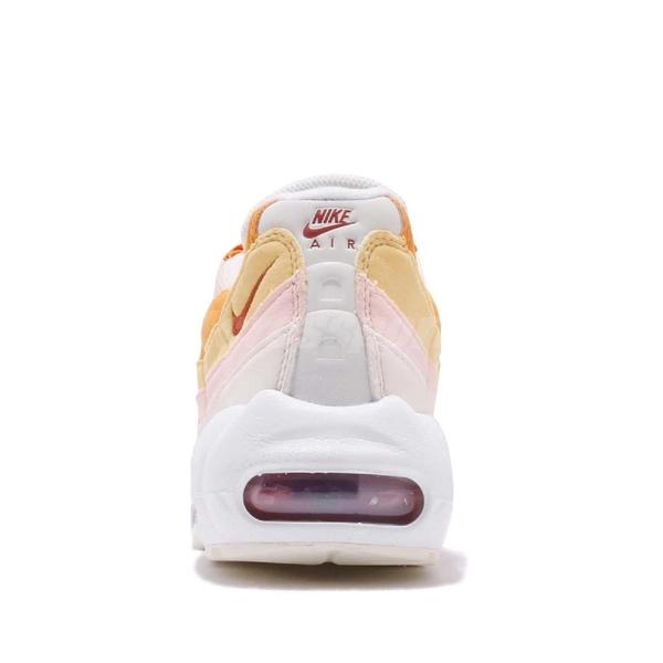 【五折特賣】Nike 休閒慢跑鞋 Wmns Air Max 95 橘 粉紅 白 女鞋 運動鞋 【ACS】 307960-114