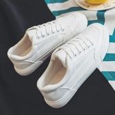 夏季小白鞋韓版帆布鞋潮流男鞋百搭休閒鞋白色原宿板鞋學生布鞋潮
