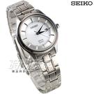 SEIKO 精工錶 SPIRIT SMART 環保太陽能 鈦金屬 日期顯示 輕量 女錶 白色 STPX041J V137-0CS0S