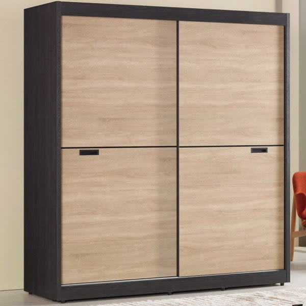 衣櫃 衣櫥 MK-608-1 艾爾莎5尺拉門衣櫥 【大眾家居舘】