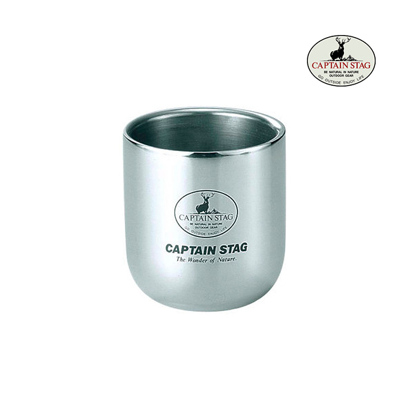 [CAPTAIN STAG] 真空杯280ml (M-9682)