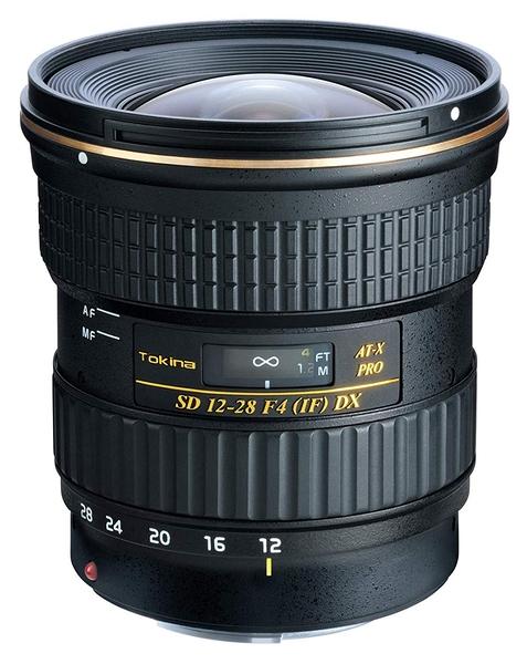 ◎相機專家◎ TOKINA AT-X 12-28mm PRO DX 12-28 mm F4.0 鏡頭 for Canon 公司貨