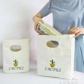 (免運)便當袋大飯盒袋午餐包便當包手提包簡約韓版帆布清新大號圓形大容量學生