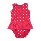 Carter s卡特 裙擺背心無袖兔子裝 紅點點 | 女寶寶連身衣(嬰幼兒/兒童/小孩)