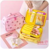 化妝包 旅行化妝包大容量便攜女ins風超火收納盒品隨身分格可愛日系韓國 4色 雙12提前購