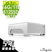 【五年保固】iStyle Mini 迷你雙碟電腦 i7-9700/16G/512SSD+1TB/W10/五年保固