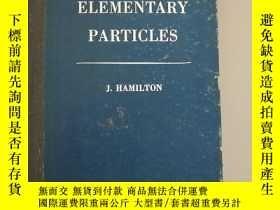 二手書博民逛書店THE罕見THEORY OF ELEMENTARY PARTICLES 基本粒子論 (英文版.精裝)Y1527