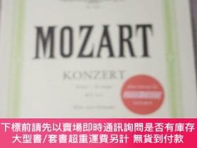 二手書博民逛書店莫紮特罕見第二長笛協奏曲 D大調 K314 彼得斯原版樂譜書 Mozart Flute Concerto No 2