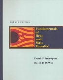 二手書博民逛書店《Fundamentals of Heat and Mass Transfer》 R2Y ISBN:0471304603