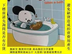 二手書博民逛書店Tikiko罕見takes a bath(提基科)Y25446